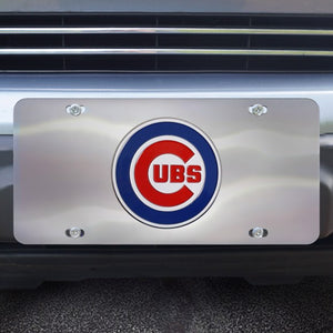 "MLB - Chicago Cubs Diecast License Plate 12"" x 6"""