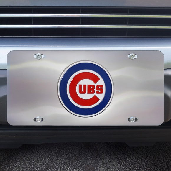 MLB - Chicago Cubs Diecast License Plate 12