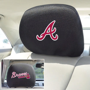 "MLB - Atlanta Braves Headrest Cover 10"" x 13"""