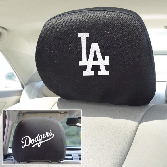 "MLB - Los Angeles Dodgers Headrest Cover 10"" x 13"""