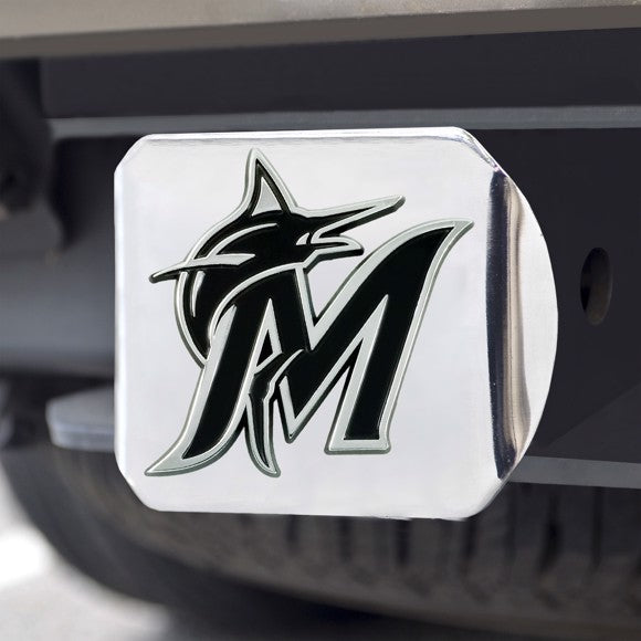 "MLB - Miami Marlins Hitch Cover 3.4"" x 4"""