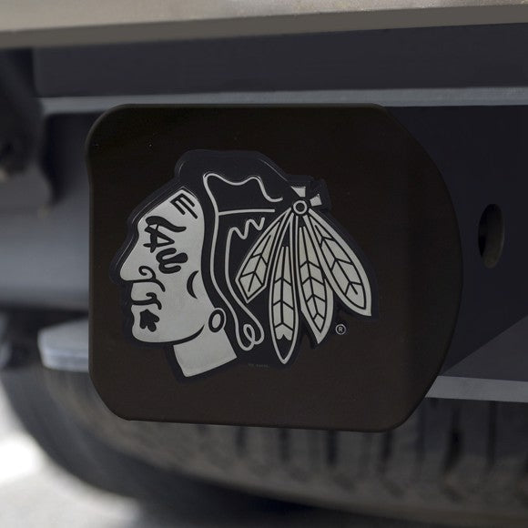 "NHL - Chicago Blackhawks Hitch Cover 3.4"" x 4"""