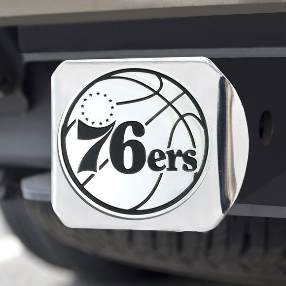 "NBA - Philadelphia 76ers Hitch Cover 3.4"" x 4"""