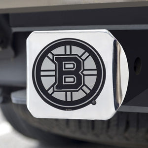 "NHL - Boston Bruins Hitch Cover 3.4"" x 4"""