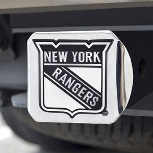 "NHL - New York Rangers Hitch Cover 3.4"" x 4"""