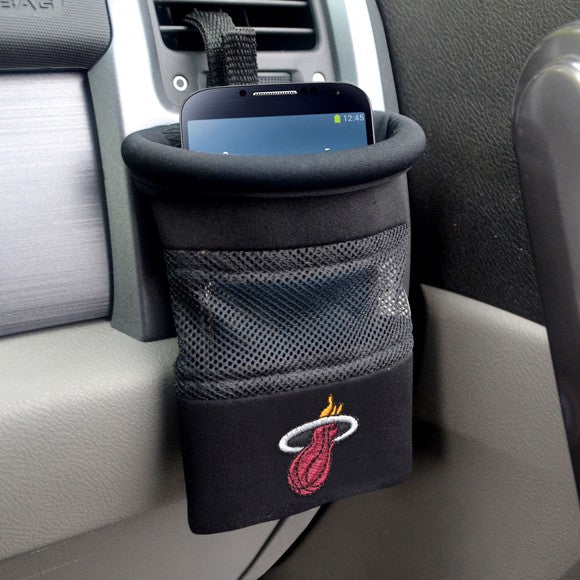 "NBA - Miami Heat Car Caddy 5"" x 4.5"""