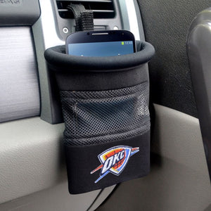 "NBA - Oklahoma City Thunder Car Caddy 5"" x 4.5"""