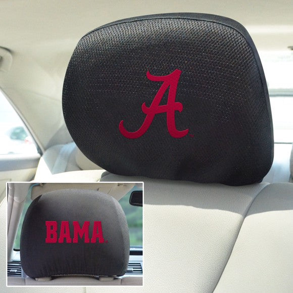 "Alabama Headrest Cover Set 10"" x 13"""