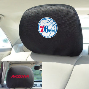 "NBA - Philadelphia 76ers Headrest Cover 10"" x 13"""