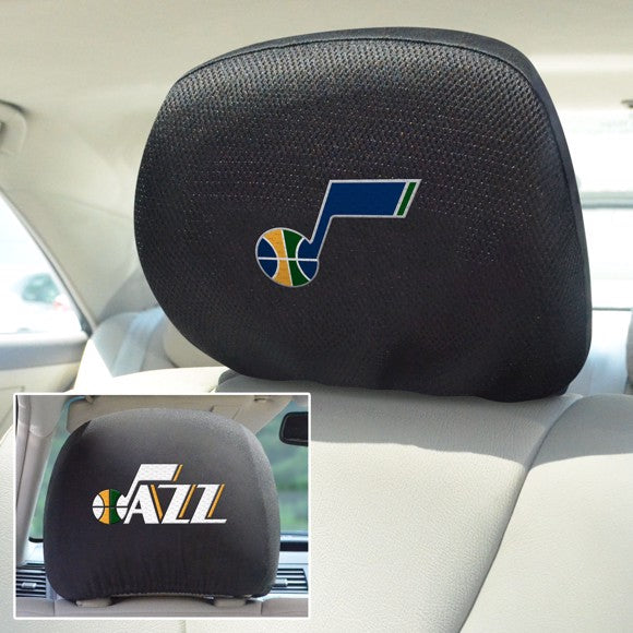 "NBA - Utah Jazz Headrest Cover Set 10"" x 13"""