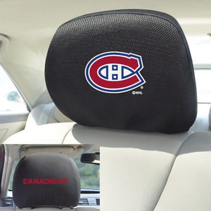 "NHL - Montreal Canadiens Headrest Cover Set 10"" x 13"""