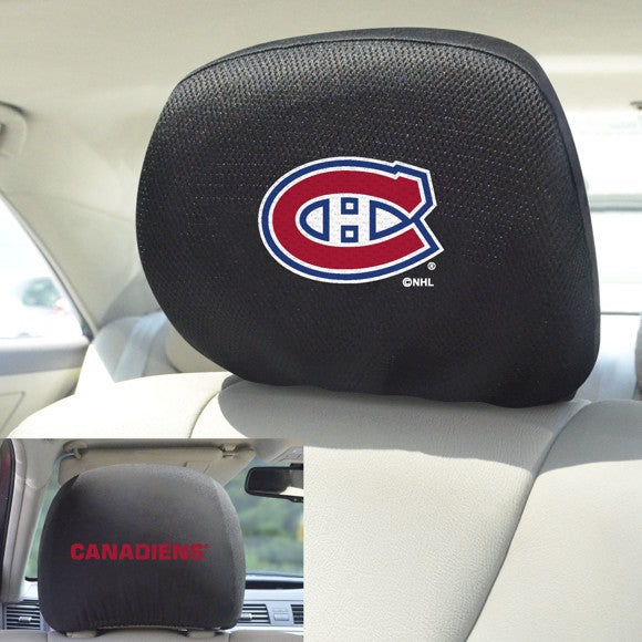 NHL - Montreal Canadiens Headrest Cover Set 10