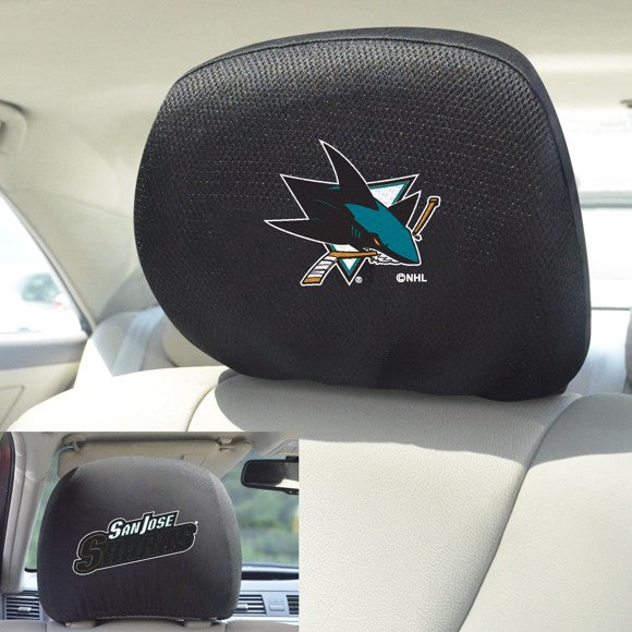 NHL - San Jose Sharks Headrest Cover 10