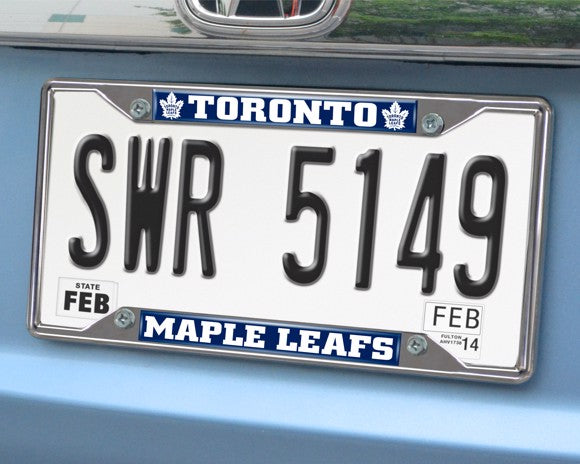 NHL - Toronto Maple Leafs License Plate Frame 6.25