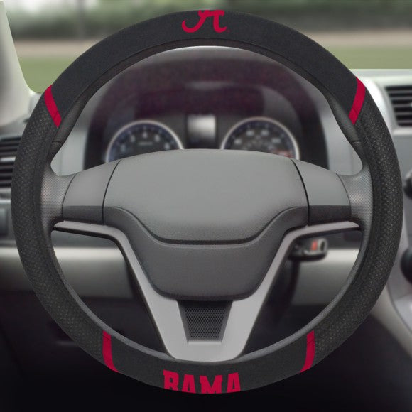 "Alabama Steering Wheel Cover 15"" x 15"""