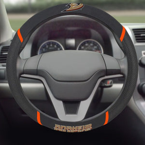 "NHL - Anaheim Ducks Steering Wheel Cover 15"" x 15"""