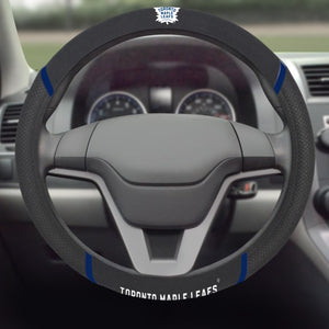 "NHL - Toronto Maple Leafs Steering Wheel Cover 15"" x 15"""