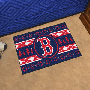 "MLB - Boston Red Sox Starter - Holiday Sweater Starter 19"" x 30"""