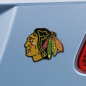 "NHL - Chicago Blackhawks Emblem - Color 2.7"" x 3.2"""
