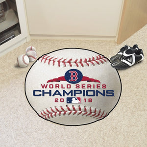MLB - Boston Red Sox 2018 World Series Champions Baseball Mat 27""