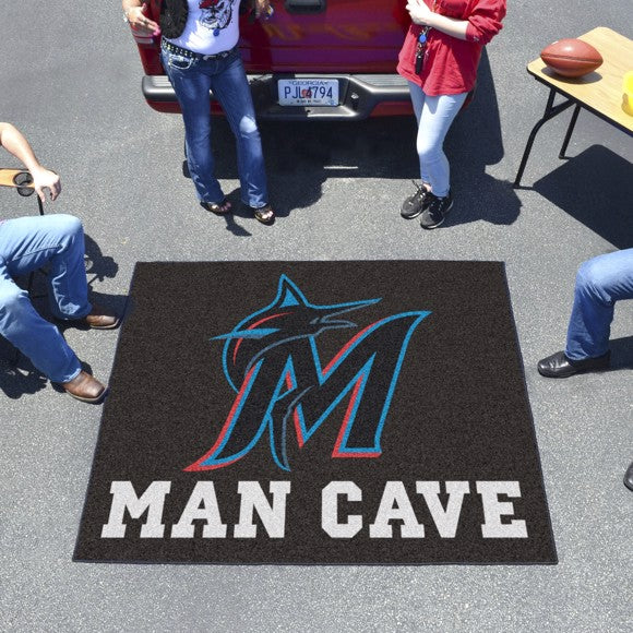 "MLB - Miami Marlins Man Cave Tailgater 59.5"" x 71"""