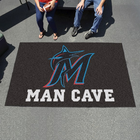 "MLB - Miami Marlins Man Cave Ulti Mat 59.5"" x 94.5"""