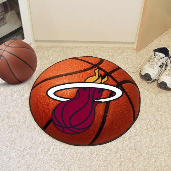 NBA - Miami Heat Basketball Mat 27""