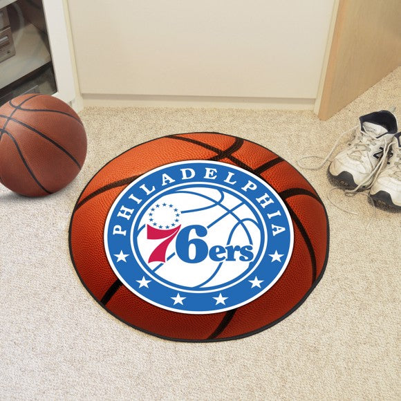 NBA - Philadelphia 76ers Basketball Mat 27""