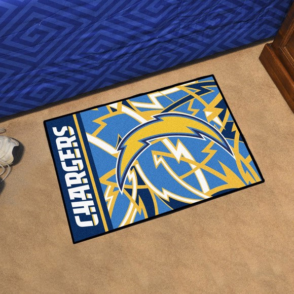 "NFL - Los Angeles Chargers Starter Mat 19"" x 30"""