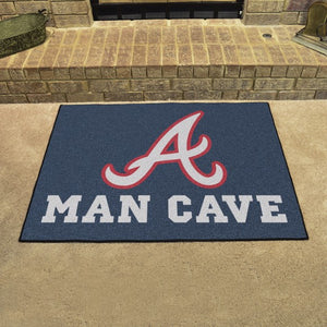 "MLB - Atlanta Braves Man Cave All Star 33.75"" x 42.5"""