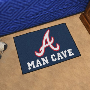 "MLB - Atlanta Braves Man Cave Starter 19"" x 30"""
