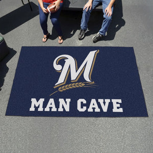 "MLB - Milwaukee Brewers Man Cave Ulti Mat 59.5"" x 94.5"""