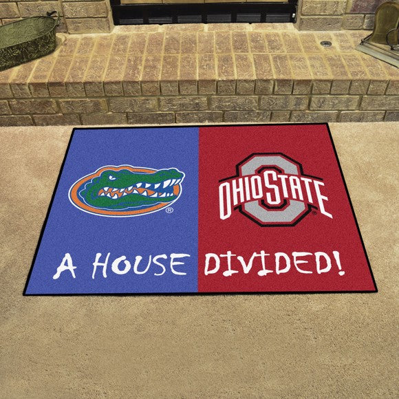 "House Divided - Florida / Ohio State 33.75"" x 42.5"""
