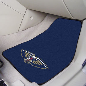 "NBA - New Orleans Pelicans Carpet Car Mat Set 17"" x 27"""