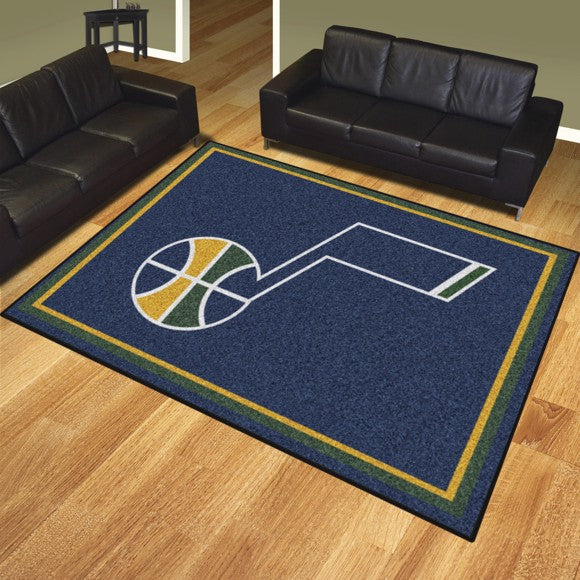 "NBA - Utah Jazz 8'x10' Plush Rug 87"" x 117"""