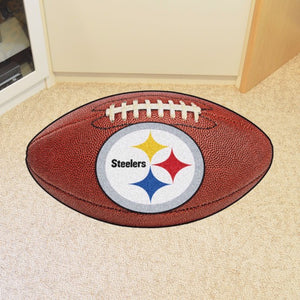 "NFL - Pittsburgh Steelers Football Mat 20.5"" x 32.5"""