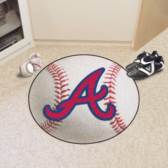 MLB - Atlanta Braves Baseball Mat 27""