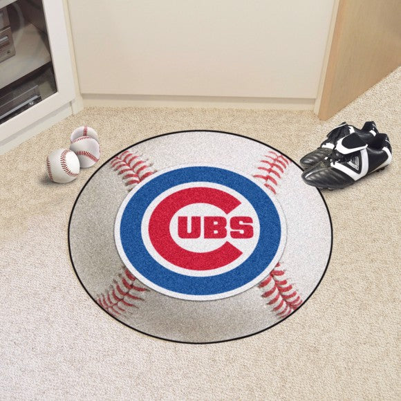 MLB - Chicago Cubs Baseball Mat 27""