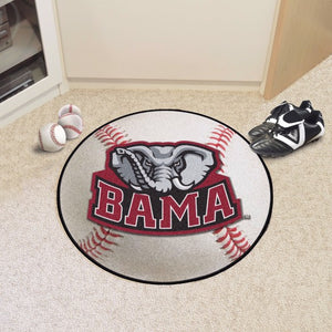 Alabama Baseball Mat 27""