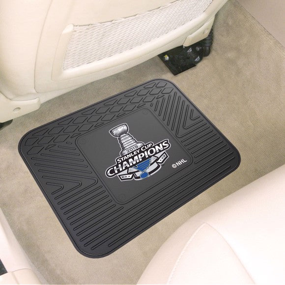 "NHL - St. Louis Blues 2019 Stanley Cup Champions Utility Mat 14"" x 17"""
