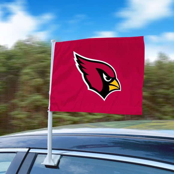 "NFL - Arizona Cardinals Car Flag 11"" x 14"""