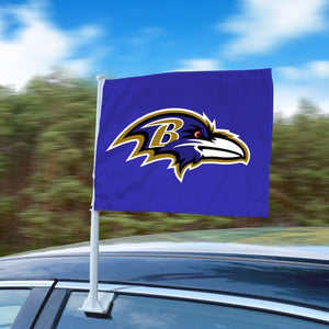 "NFL - Baltimore Ravens Car Flag 11"" x 14"""
