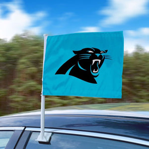 "NFL - Carolina Panthers Car Flag 11"" x 14"""