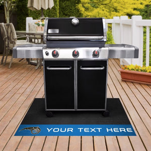 Orlando Magic Personalized Grill Mat