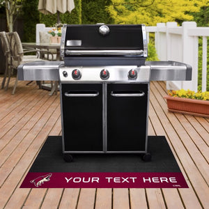 Arizona Coyotes Personalized Grill Mat