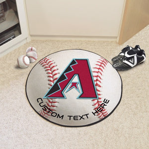 Arizona Diamondbacks Personalized Baseball Mat