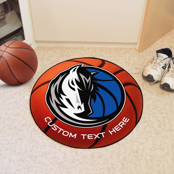 Dallas Mavericks Personalized Basketball Mat