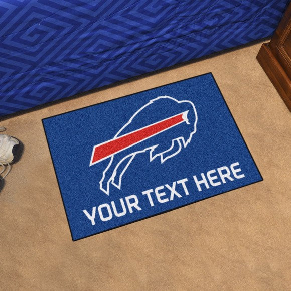 Buffalo Bills Personalized Starter Mat