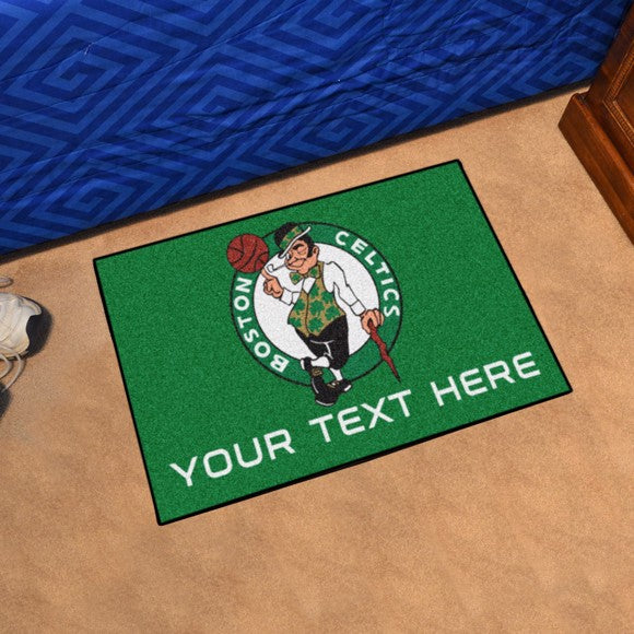 Boston Celtics Personalized Starter Mat