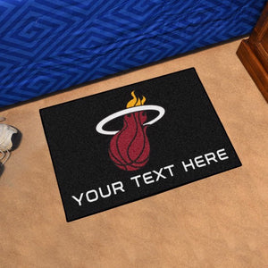 Miami Heat Personalized Starter Mat